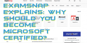 Examsnap Explains: Why Should You Become Microsoft Certified?