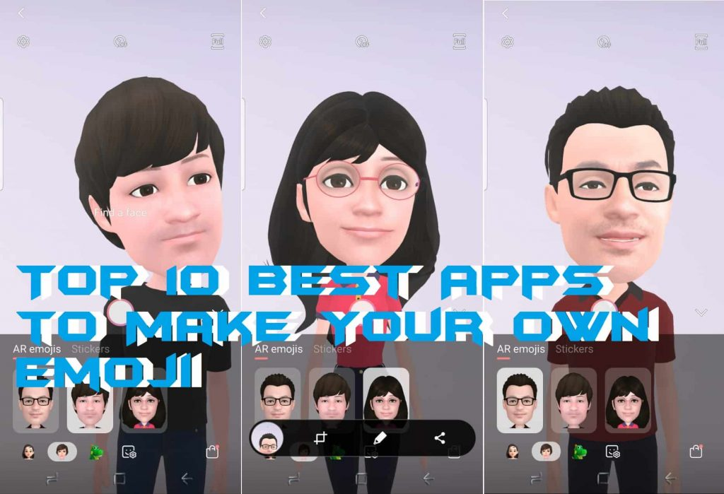 Top 10 Best Apps to Make Your Own Emoji