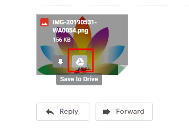 google drive - Automatically download all attachments from
