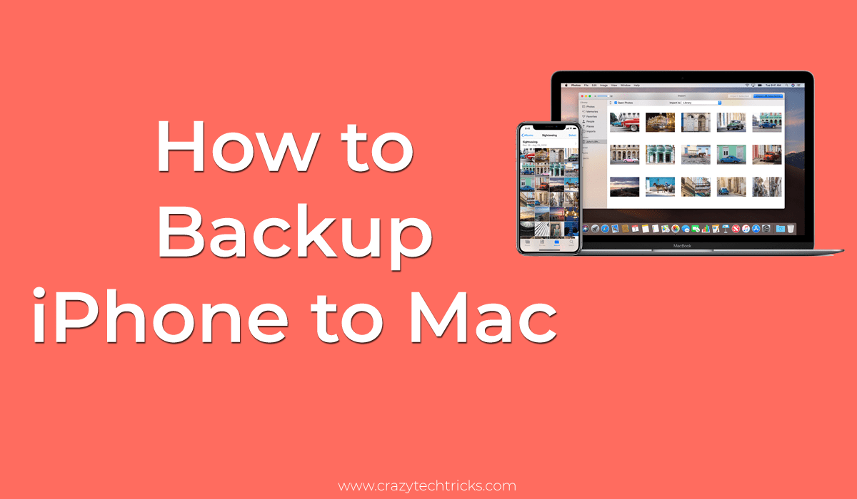 How to Backup iPhone to Mac