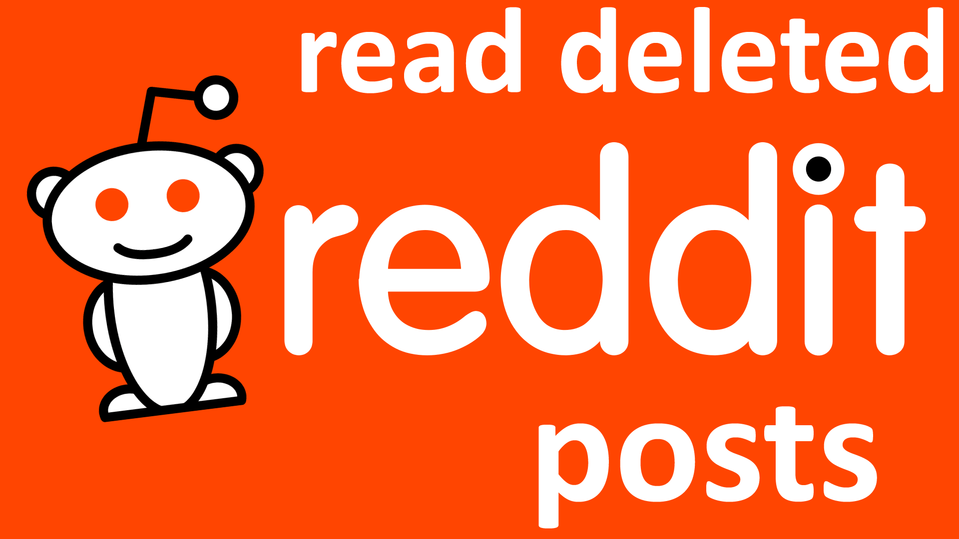 How to Read Deleted Reddit Posts
