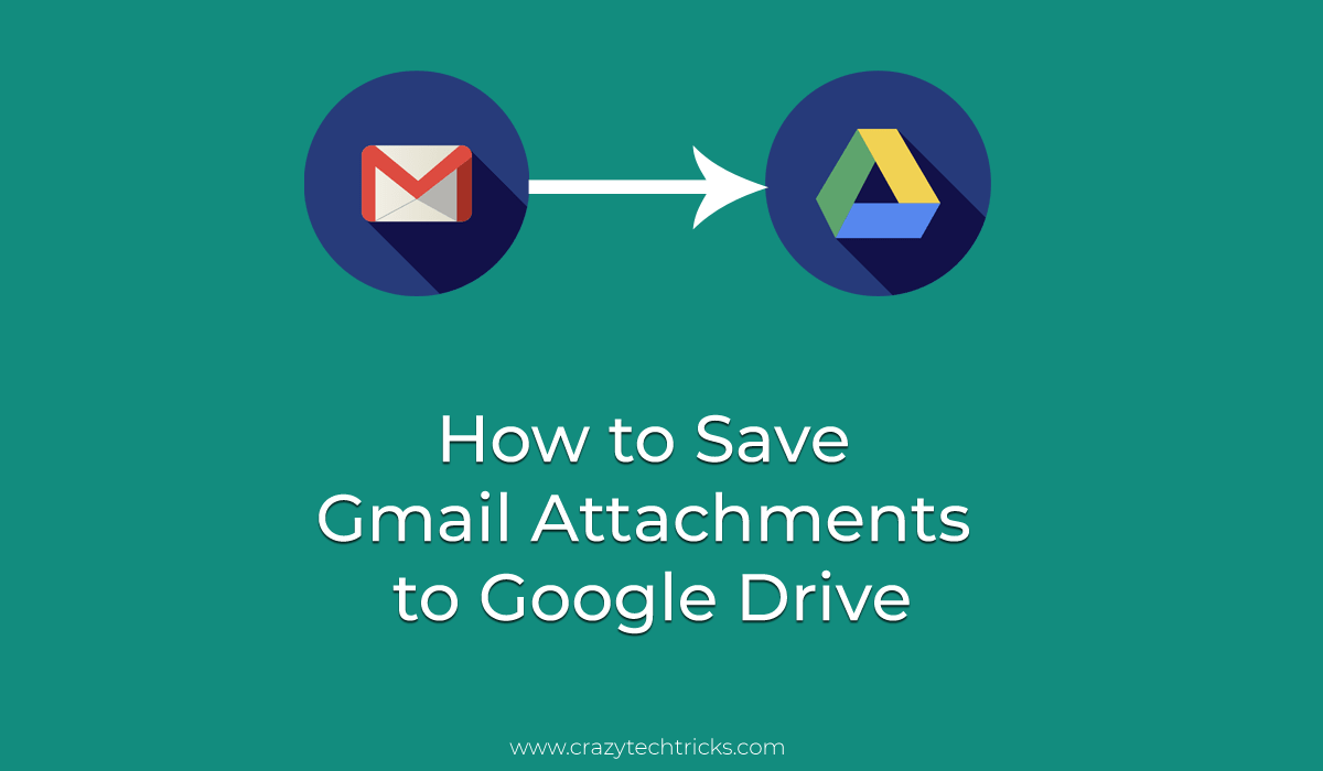 How to Save Gmail Attachments to Google Drive Automatically or Manually