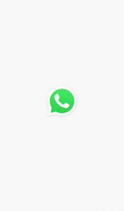 whatsapp front image when open the app