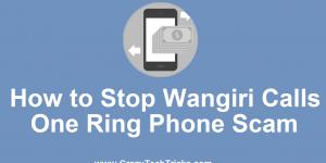 How to Stop Wangiri Calls