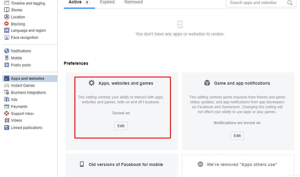 Remove third-party apps - How to Secure Yourself From Facebook Hack Scam