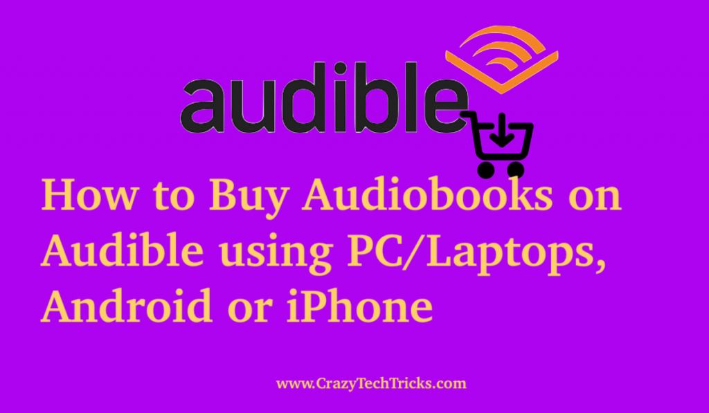How to Buy Audiobooks on Audible