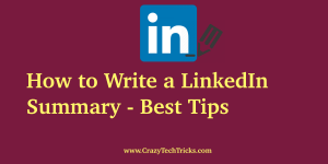 How to Write a LinkedIn Summary