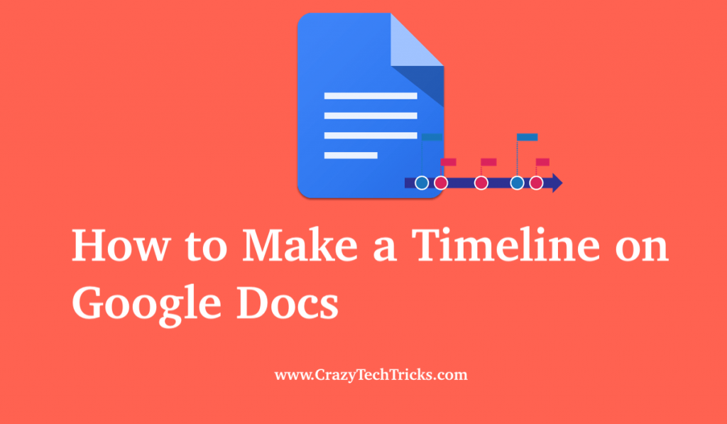 How to Make a Timeline on Google Docs
