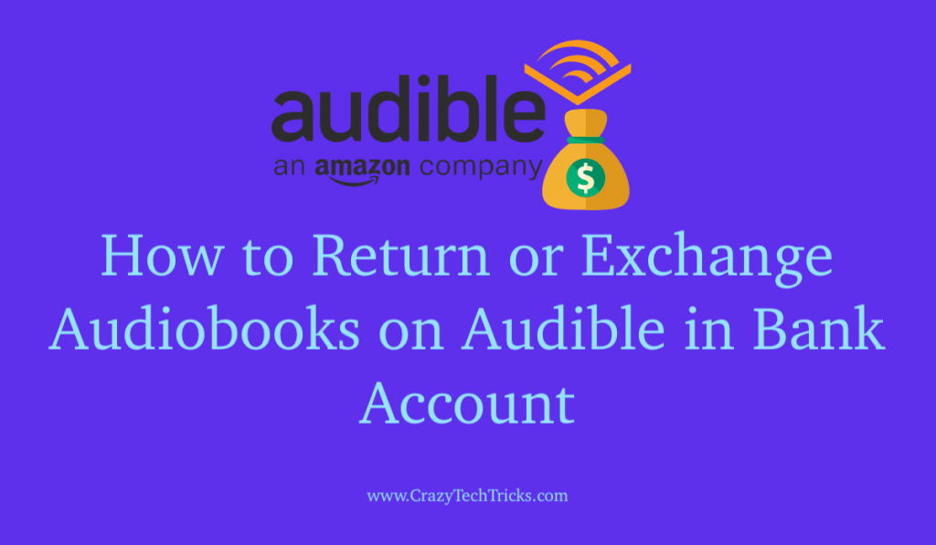 How to Return or Exchange Audiobooks on Audible