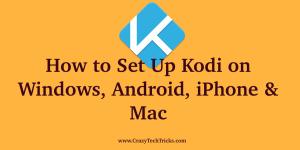How to Set Up Kodi