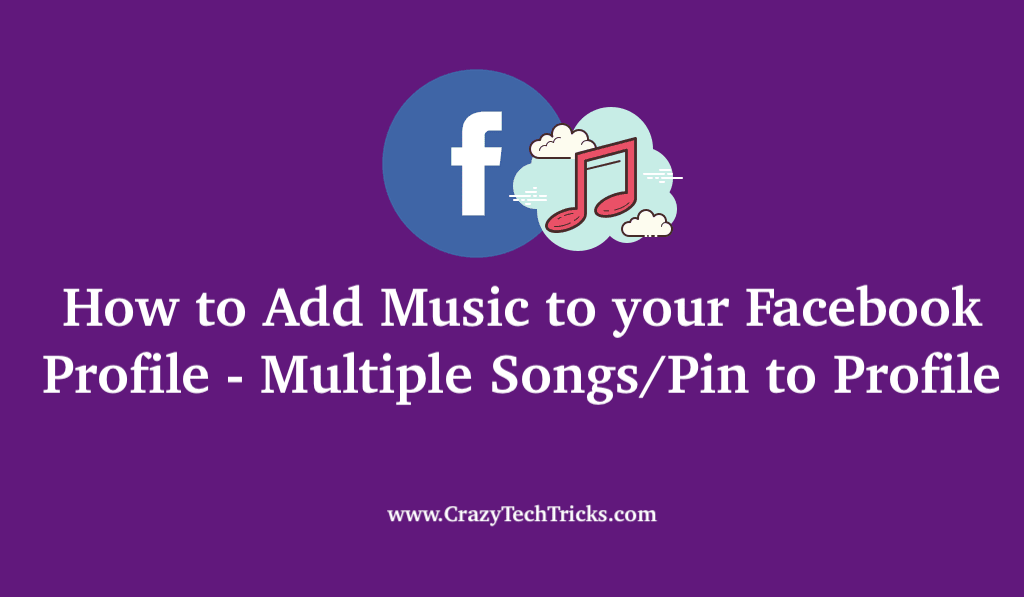 How to Add Music to your Facebook Profile