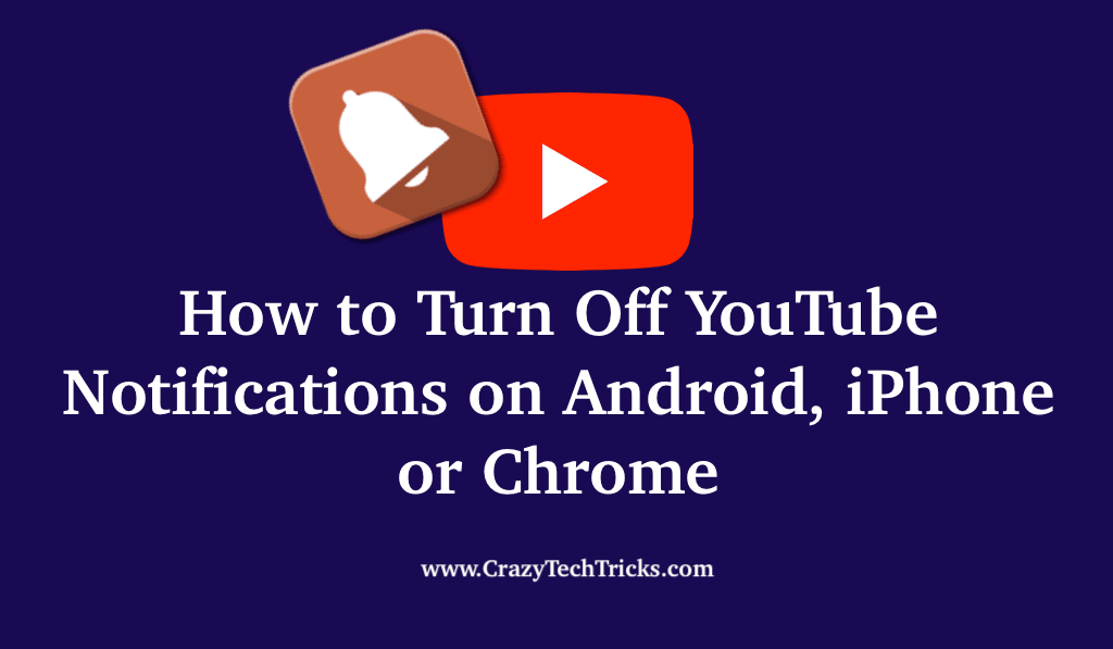 How to Turn Off YouTube Notifications