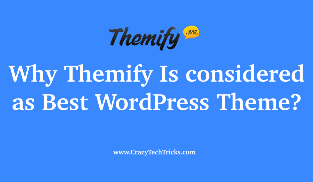 Why Themify Is considered as Best WordPress Theme