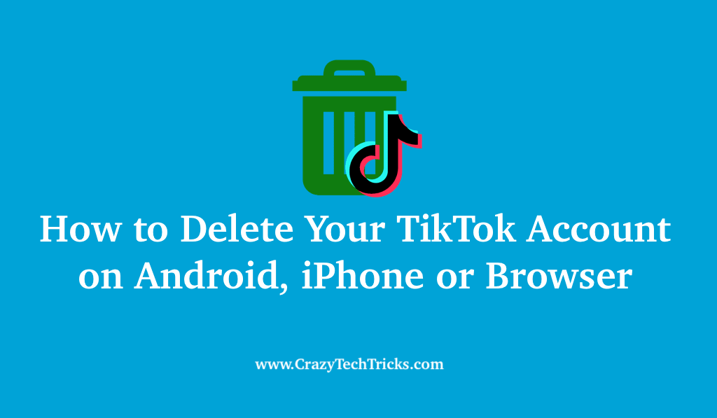 How to Delete Your TikTok Account