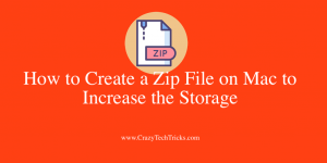 How to Create a Zip File on Mac