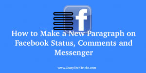 How to Make a New Paragraph on Facebook