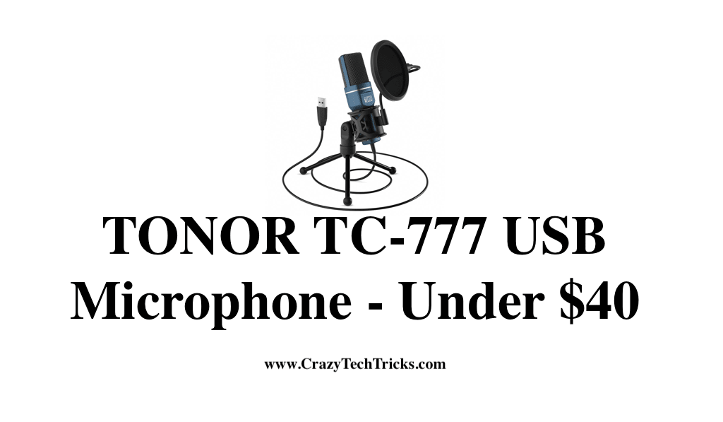 TONOR TC-777 USB Microphone