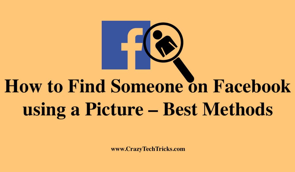 How to Find Someone on Facebook using a Picture