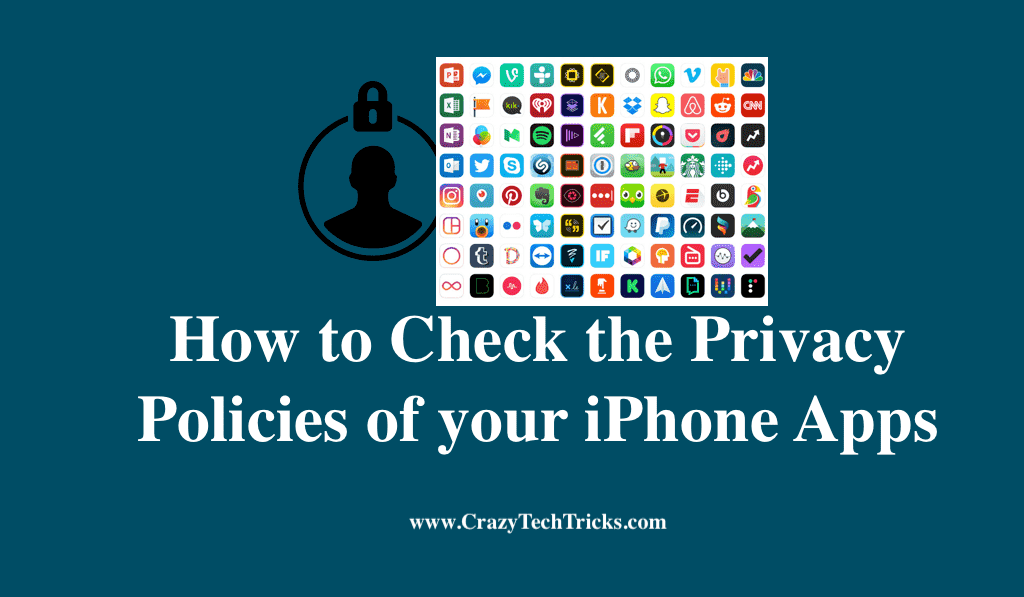 Check the Privacy Policies of your iPhone Apps